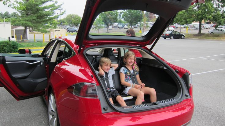 tesla model s with 5 2 seating 2 rear facing seats have built in 5 point restraints no child. Black Bedroom Furniture Sets. Home Design Ideas