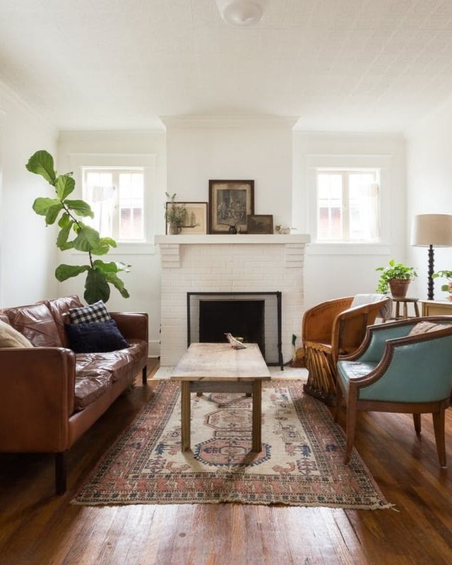This cozy southern eclectic Nashville home is filled with unique items found in antique stores, flea markets and on Craigslist. The couple has worked hard to honor the character and craftsmanship of the house's original 1920s style, while also adding in their own charming personality