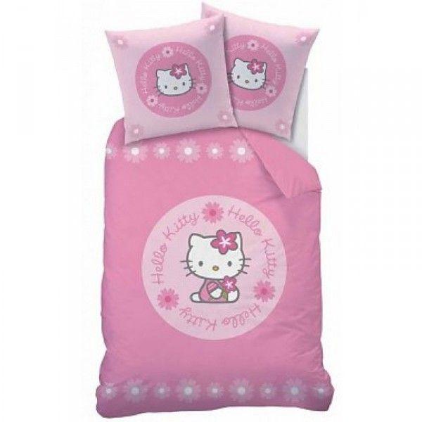 Hello kitty sengetøj med flot motiv af den søde kat