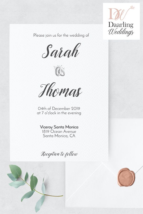 Minimalist Cute And Funny Wedding Invitation Printable Card Template Unique And Elegant Invitation Rsvp Wedding Cards Funny Wedding Invitations Wedding Rsvp