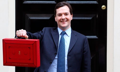 Budget 2013, issues facing the chancellor