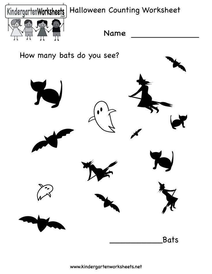 Liczba najlepszych obraz w na temat Kindergarten na Pintere cie – Halloween Worksheets for Kindergarten