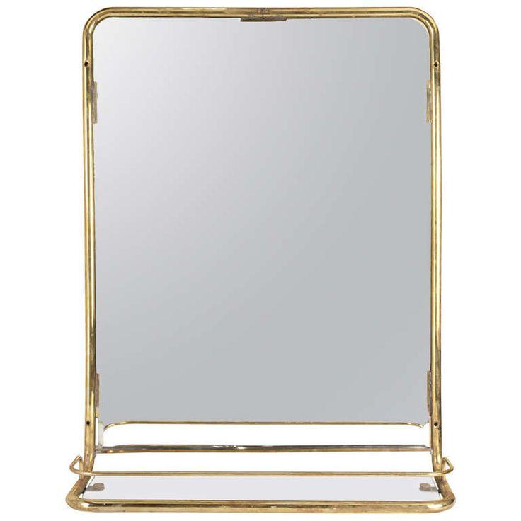 17 Best images about 2516 Bathroom – Brass Bathroom Mirror