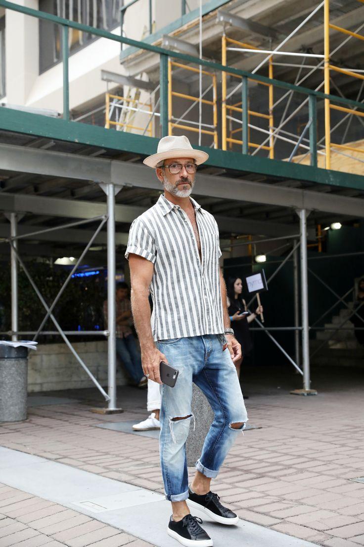 New York Fashion Week Men 39 S Street Style Spring 2018 Day 1 Cont Style Pinterest Street