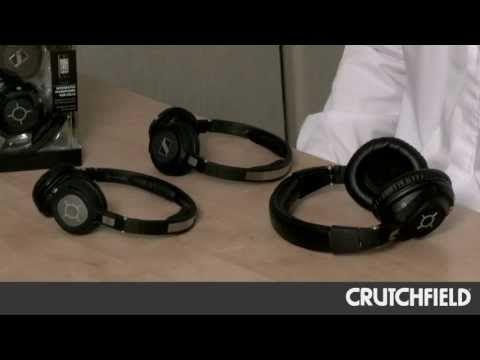 Sennheiser MM-X Series Bluetooth Headphones   Crutchfield Video - YouTube #Sennheiser #MM-X #headphones