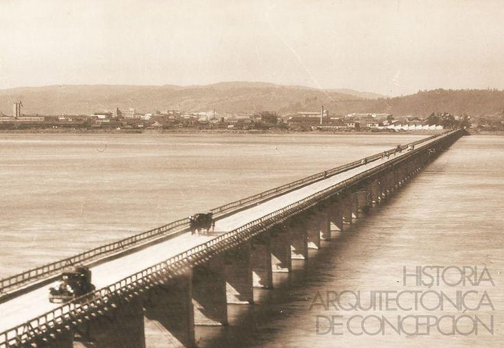 Puente Bío Bío (Puente Viejo)  Abierto en 1943