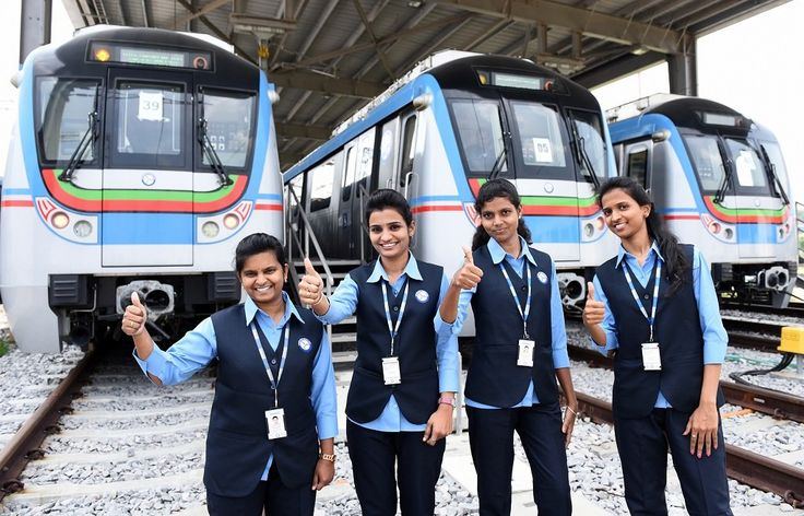 As the Hyderabad Metro Rail gets ready to chug across the city next month, women are going to be a major driving force behind it.