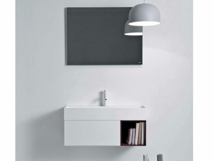 Quattro zero mueble bajo lavabo suspendido by falper 2 - Mueble bajo lavabo ...