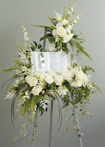 beautiful funeral wake | Soft Reflections Casket Arrangement Funeral Home & Wake Flowers A ...
