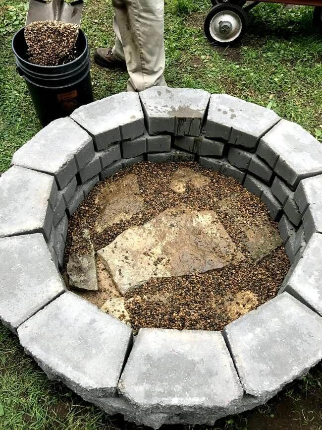 attractive Diy Fire Pit Pinterest Part - 15: Huge DIY fire pit for UNDER $68 and DONE in under two hours-   Outdoor Fire  Pit   Pinterest   Diy fire pit, Fire and Fire pit backyard