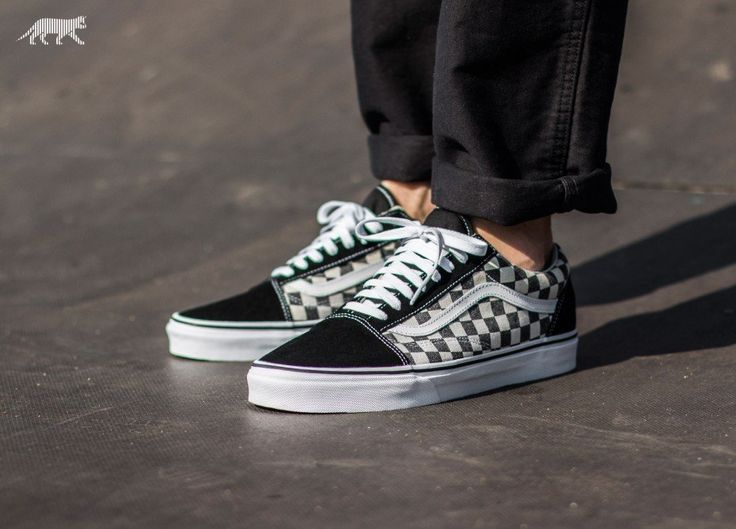 vans checkerboard old skool black and espresso