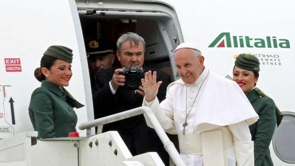 Egipto recibe al Papa Francisco