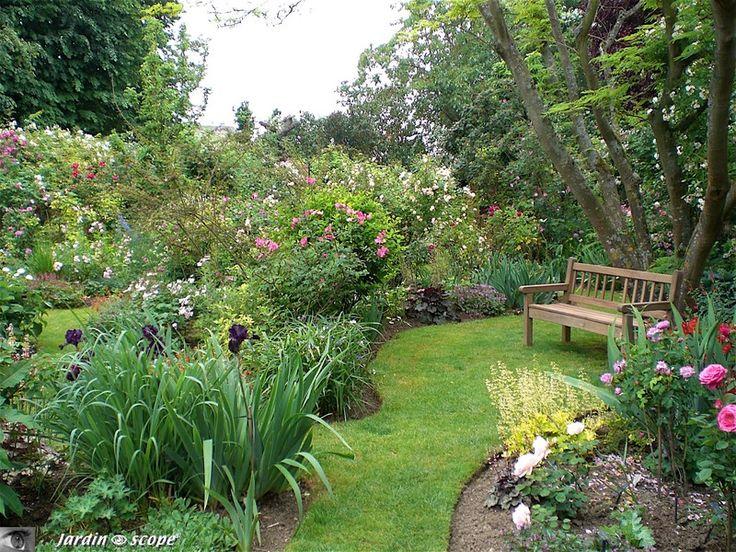 Les 359 meilleures images du tableau jardin garden sur for Jardin anglais mixed border