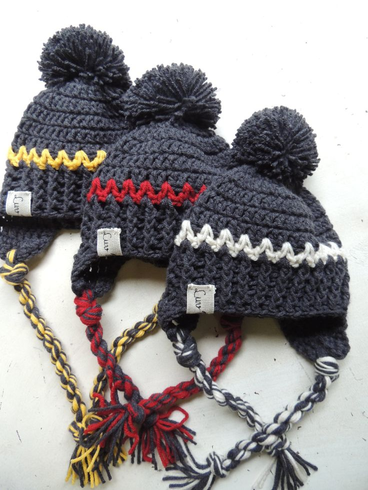 Crochet Hats, Luv Beanies, Boy Hats, Stocking Hats, Boy Stocking hats, Boy Ski Hat, Winter hats for boys, Hat with Pom Pom, Elf Hats by LuvBeanies on Etsy