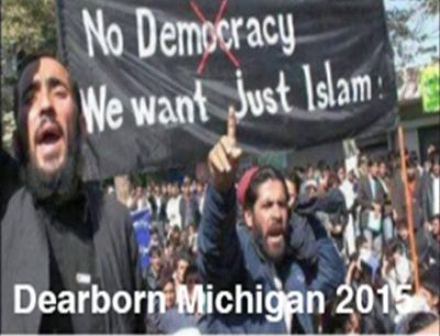 Dearborn, Michigan is now a city overrun by immigrants, as it's now being filled with mosques and Islamic stores. This has happened because of President Obama's liberal immigration policy. Now they have become rooted in our communities and as they begin to grow their hated of Christians and our way of life grows.  Many of these people are refugees are on welfare and using entitlement benefits which puts an added burden on the American taxpayers. These communities are not integrated an...