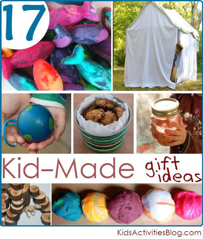 17 Homemade Christmas ideas for Kids to Create-Christmas Gifts mean so much when they are homemade, makes the gift so much more personal!  I know my kids *LOVE* making gifts for their friends.  …homemade is one of our favorite December Activities!
