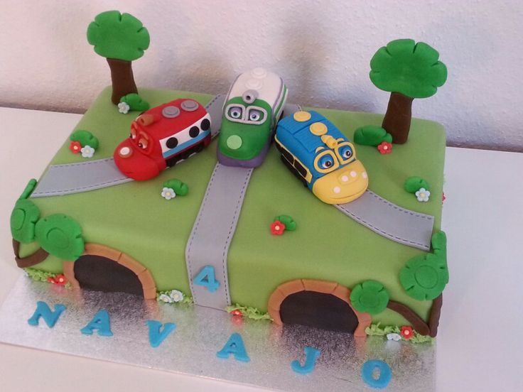 14 best Chuggington cake images on Pinterest Birthday party