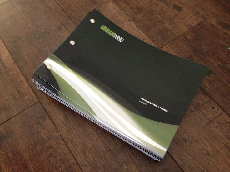 New brochure for UrbanWind.