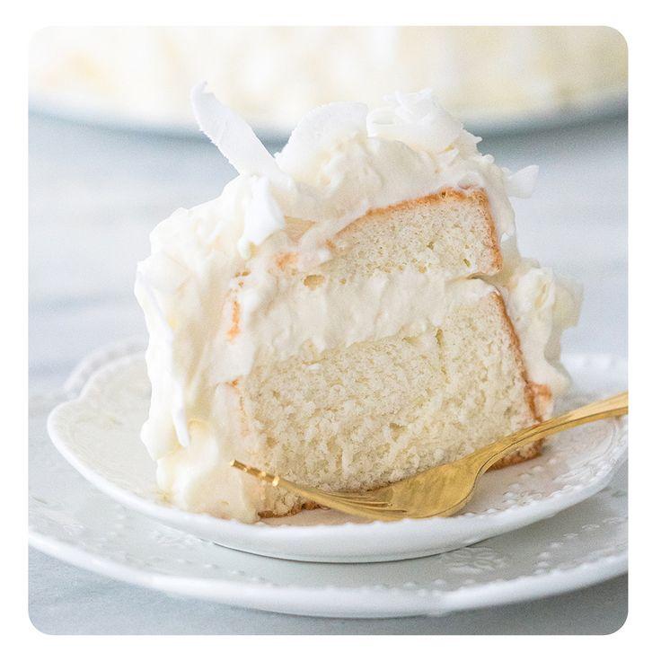 Bolo Nuvem aka Angel Food Cake | Vídeos e Receitas de Sobremesas