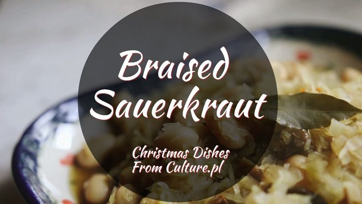 Find all 12 dishes of Polish Christmas here: http://culture.pl/en/article/the-12-dishes-of-polish-christmas  Polish Christmas Eve smells predominantly like sauerkraut. Sauerkraut has always existed in the Polish diet and is one of the most popular and recognizable food preparations. One can see the strong presence of sauerkraut in the Polish culinary culture during Christmas Eve. Nearly everybody braises sauerkraut as either filling for pierogi or as a side dish with the addition of dried…