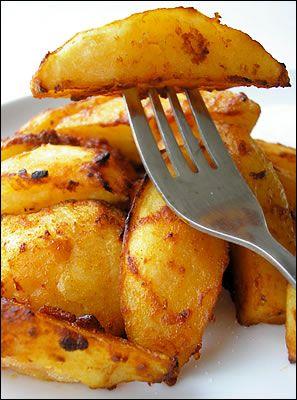 Patate con paté di pomodori secchi e cayenne ~
