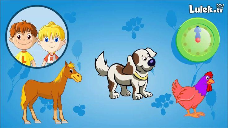 Pomyśl i kliknij - Odgłosy zwierząt - Zwierzęta domowe - Gra dla dzieci ...