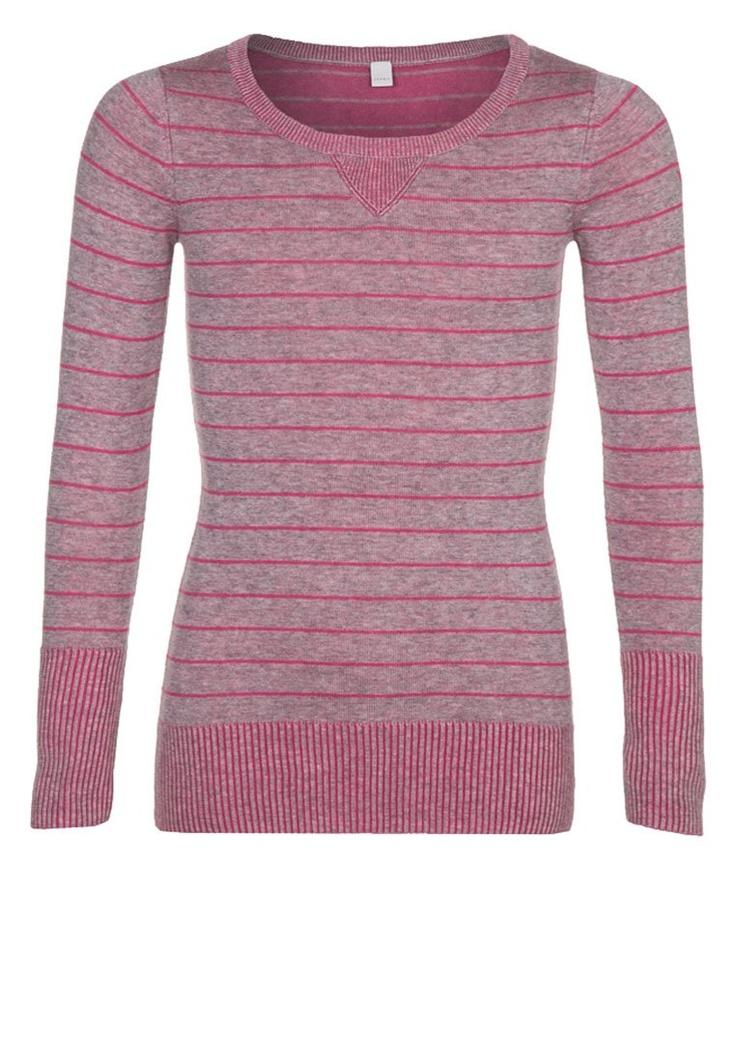 Esprit - FANCY - Strikpullover /Striktrøjer - pink