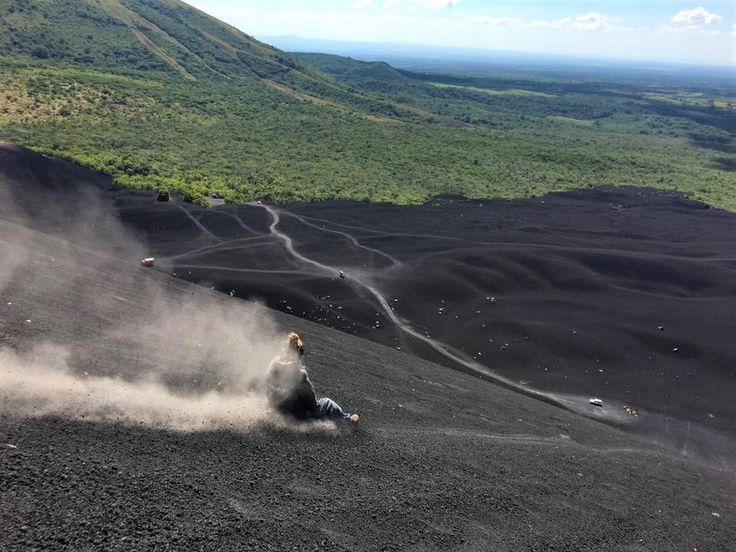 Volcano Boarding in Nicaragua while Supporting Local Charities