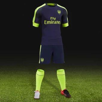 รีบเป็นเจ้าของ  2016--2017 Arsenal football team away Soccer Jersey suits (Darkblue) - intl  ราคาเพียง  679 บาท  เท่านั้น คุณสมบัติ มีดังนี้ High quality. Team: Arsenal away Soccer Jersey. Set (Jerseys + shorts). Breathable comfort. Perspiration & Quick drying. The need for more team jersey Please click on the store name tochoose, thank you!