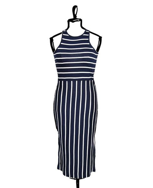 Striped Tank Dress by Press
