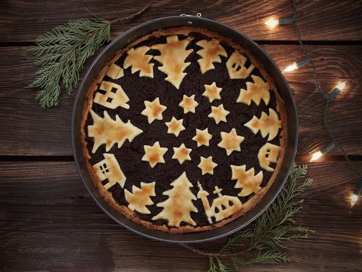 Poppy seed shortcrust tart for Christmas / Tarta makowa na kruchym cieście