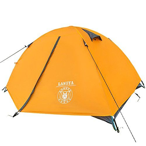 Good quality double layer 2 person 4 season outdoor camping tent ultralight ice fishing tent winter tent gazebo sun shelter *** You can find out more details at the link of the image.(This is an Amazon affiliate link and I receive a commission for the sales)
