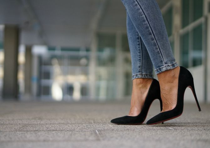 Con Dos Tacones Ana In Black Suede So Kate Shoes Shoes