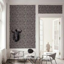 Plantilla Decorativa Leopardo  para el diseño de interiores. Pinta y decora paredes creando efectos como el papel tapiz y vinilos decorativos, solo necesitas pintura acrilica/vinilica, rodillo y listo!