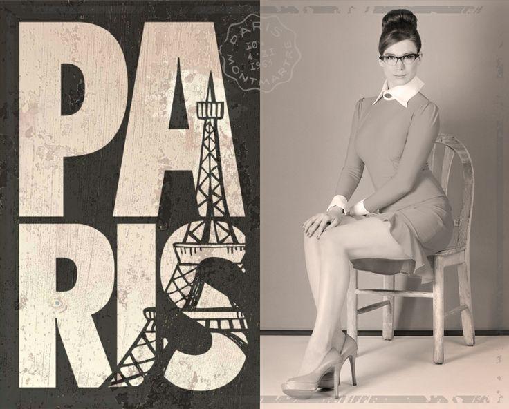 Paris 1950 - VINTAGE STYLE