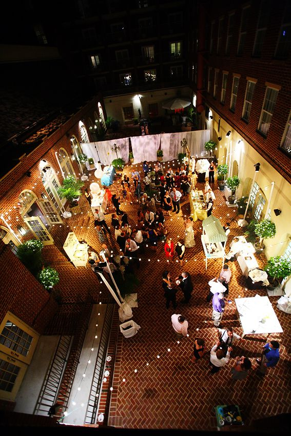 Courtyard Celebration