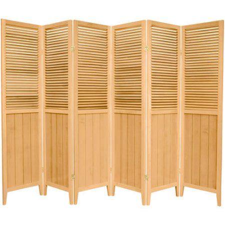 6 Tall Beadboard Room Divider