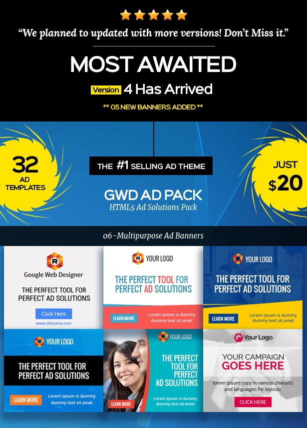 Gwd Ad Banner With Html5 Banner Ads Animated Banner Ads Banner