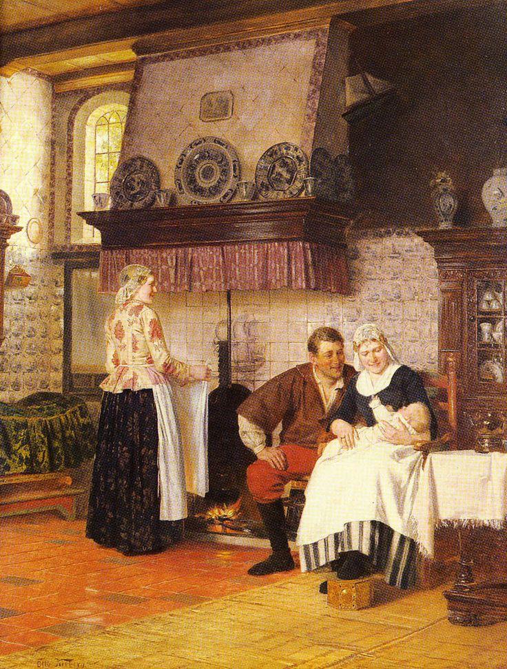Otto Karl Kirberg (1850-1926) Der Erstgeboren