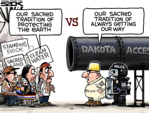 "cartoonpolitics: "" (cartoon by Steve Sack) """