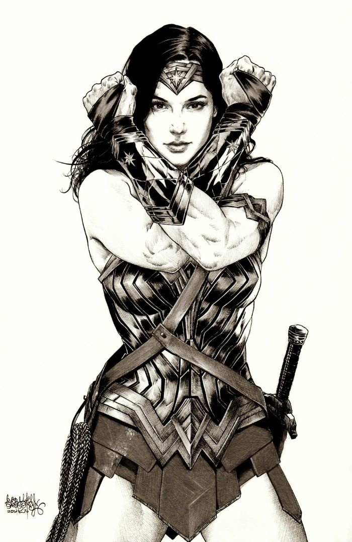 Awesome Batman V Superman: Dawn Of Justice Artwork Of Gal Gadots Wonder Woman