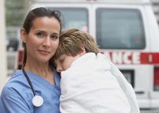 Negozio specializzato nella vendita di attrezzature di soccorso Ambulanza e 118