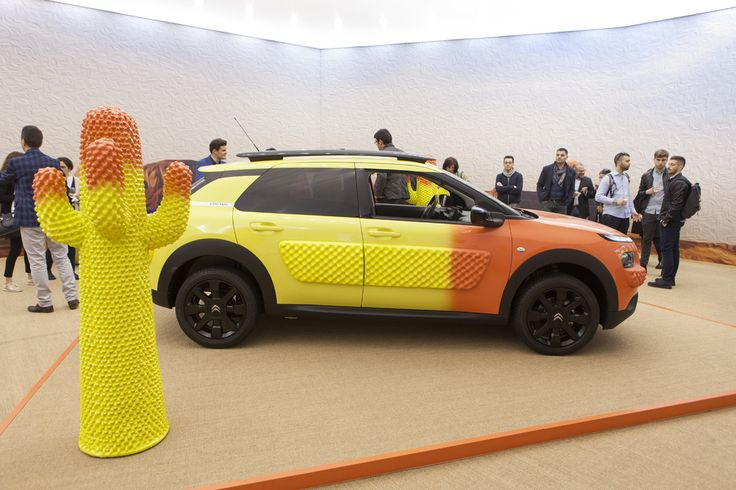 Citroën in collaboration with Gufram