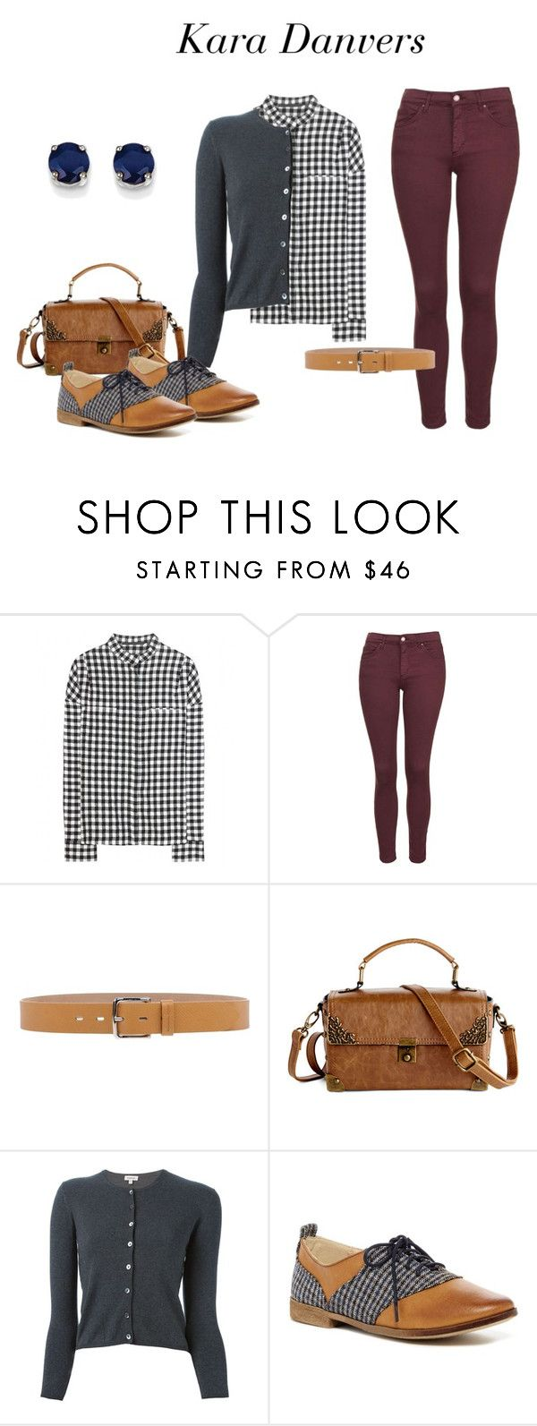 """Kara Danvers (Supergirl) Inspired Outfit"" by vintageuniquefashion4u ❤ liked on Polyvore featuring Haider Ackermann, Topshop, Michael Kors, P.A.R.O.S.H., Restricted, Kevin Jewelers, vintage, VintageInspired, TV and supergirl"