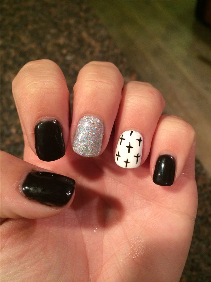 Best 25+ Cross Nail Designs Ideas On Pinterest