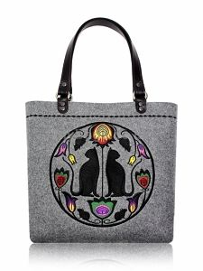 GOSHICO embroidered tote bag FOLK ART http://mybags.co.uk/goshico-embroidered-tote-bag-folk-art-1313.html