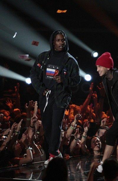 ASAP Rocky Performing at MTV Video Music Awards 2015