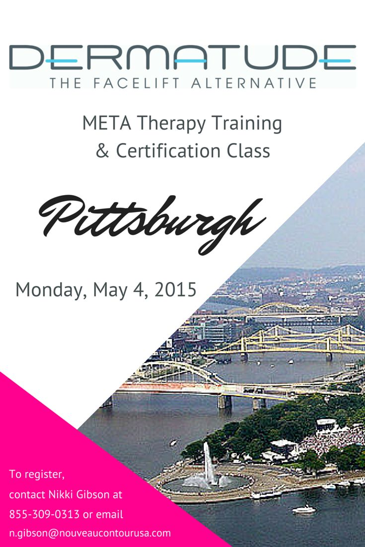 Our next class will be in #Pittsburgh! Contact Nikki Gibson at 855-309-0313 or n.gibson@nouveaucourtourusa.com to register.