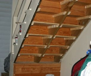 Best 20 shelves under stairs ideas on pinterest for Building shelves under stairs