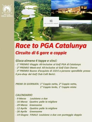 RACE TO PGA CATALUNYA #golf #event #race #colliberici